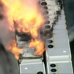 Fire breaks out at giant Tesla battery project