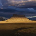 Last Line of Light Before a Desert Rain, Utah