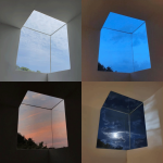 Cubic window during different times of day