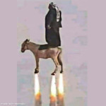 Abdul, the goat flier