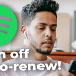 How to Turn Off Auto Renewal in Spotify
