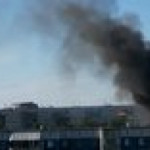Gas station explosion in Novosibirsk, Russia