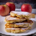 Polish Apple Pancakes (Racuchy z Jabłkami) Taste of childhood!