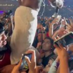 The guy holding Dababy just wants to go home