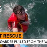 Paddleboarder saved by his waterproof phone pouch