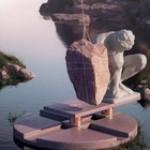 This digital kinetic sculpture