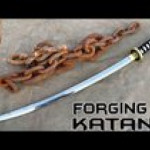 Forging a Katana from a rusted chain