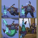 Swords ~ Swordtember: Aquatic