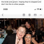 Stealing from a wedding… police report has been filed