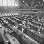 The FBI fingerprint filling system in 1940