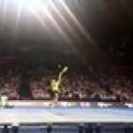 Nadal's overhead in slowmo