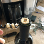 A cheap bottle of wine comes with a cheap cork 😖🥴