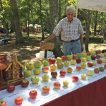 Tom Brown, retired engineer, has saved around 1,200 types of apples from extinction over 25 years