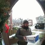 UPS man is Snow white