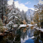 Yosemite Half Dome View