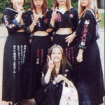 Sukeban (delinquent girl gangs) in Japan during the 80s