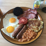 Saturday morning fry up
