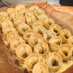 First time making tortellini. Keeping it simple with a classic spinach and ricotta filling