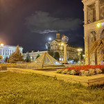 Midnight in Kyiv, Ukraine