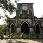 Cambodia's 140-year-old Catholic Church built in 1881, Ta Om village, Banteay Mean Chet province