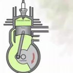 How a two stroke engine works
