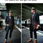 Grandpa got style