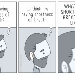 Shortness of breath - seems accurate