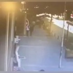 Man abused his wife in the middle of the street and gets what he deserves