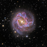 We Captured Close up of M83 Galaxy with RC telescope