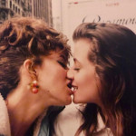 Jennifer Grey and Mia Sara on the set of Ferris Bueller's Day Off, 1986