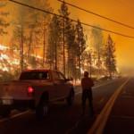 California wildfire crosses into Nevada, prompting new evacuation orders
