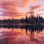 Sunset at Grand Teton National Park, Wyoming
