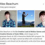 Alex the Short Bio Writer