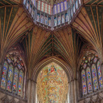 The Great Octagon of Ely Cathedral, Cambridgeshire, England