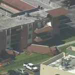 Portion of Apartment Building Roof Collapses in NW Miami-Dade