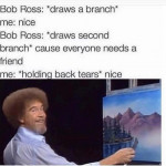 Bob Ross, the most wholesome person to have walked the earth