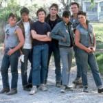 Emilio Estevez, Rob Lowe, C Thomas Howe, Matt Dillon, Ralph Macchio, Patrick Swayze and Tom Cruise (1983 The Outsiders)
