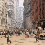 Broadway in 1900