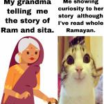 Ramayan= Holy book of hindu