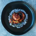 Grilled Octopus on mashed cauliflower. 🐙