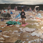 We were the last people to leave Woodstock 94. From over half a million to just us