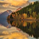 Lake Macdonald, Glacier National Park, Montana, United States