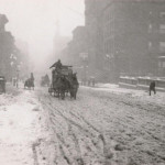 Winter on Fifth Avenue, NYC, 1893