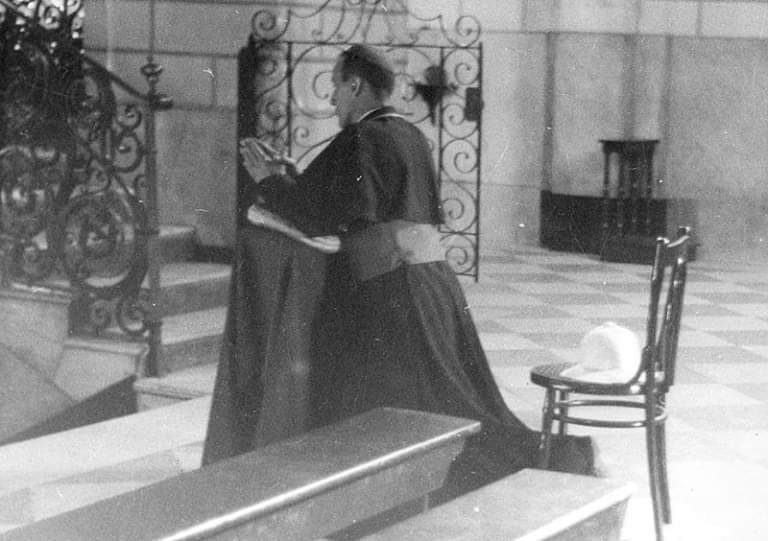 On May 17, 1945, Hero of Croatian people Archbishop Stepinac was shamefully arrested by communists