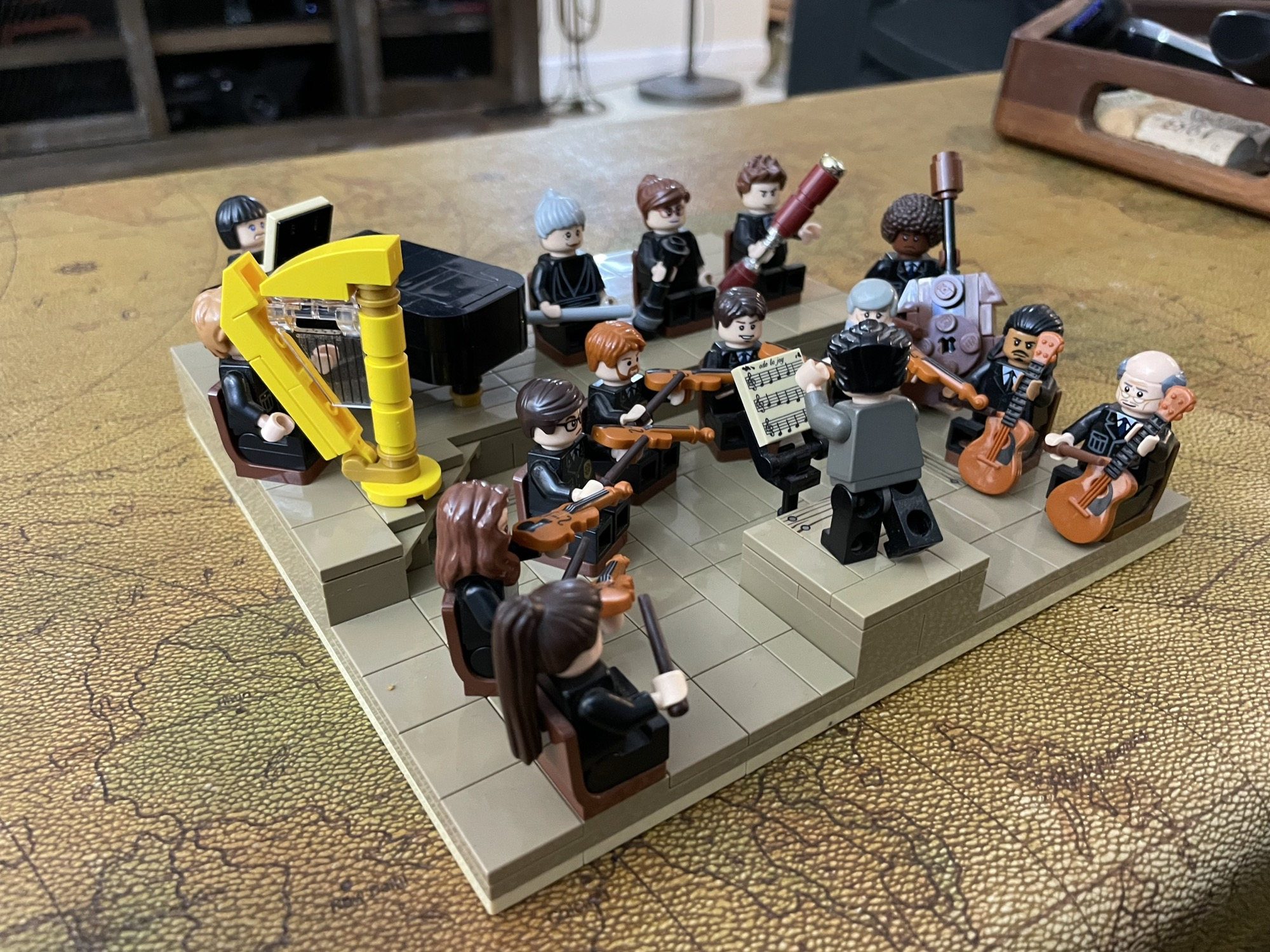 Thanks for the harp, Lego!