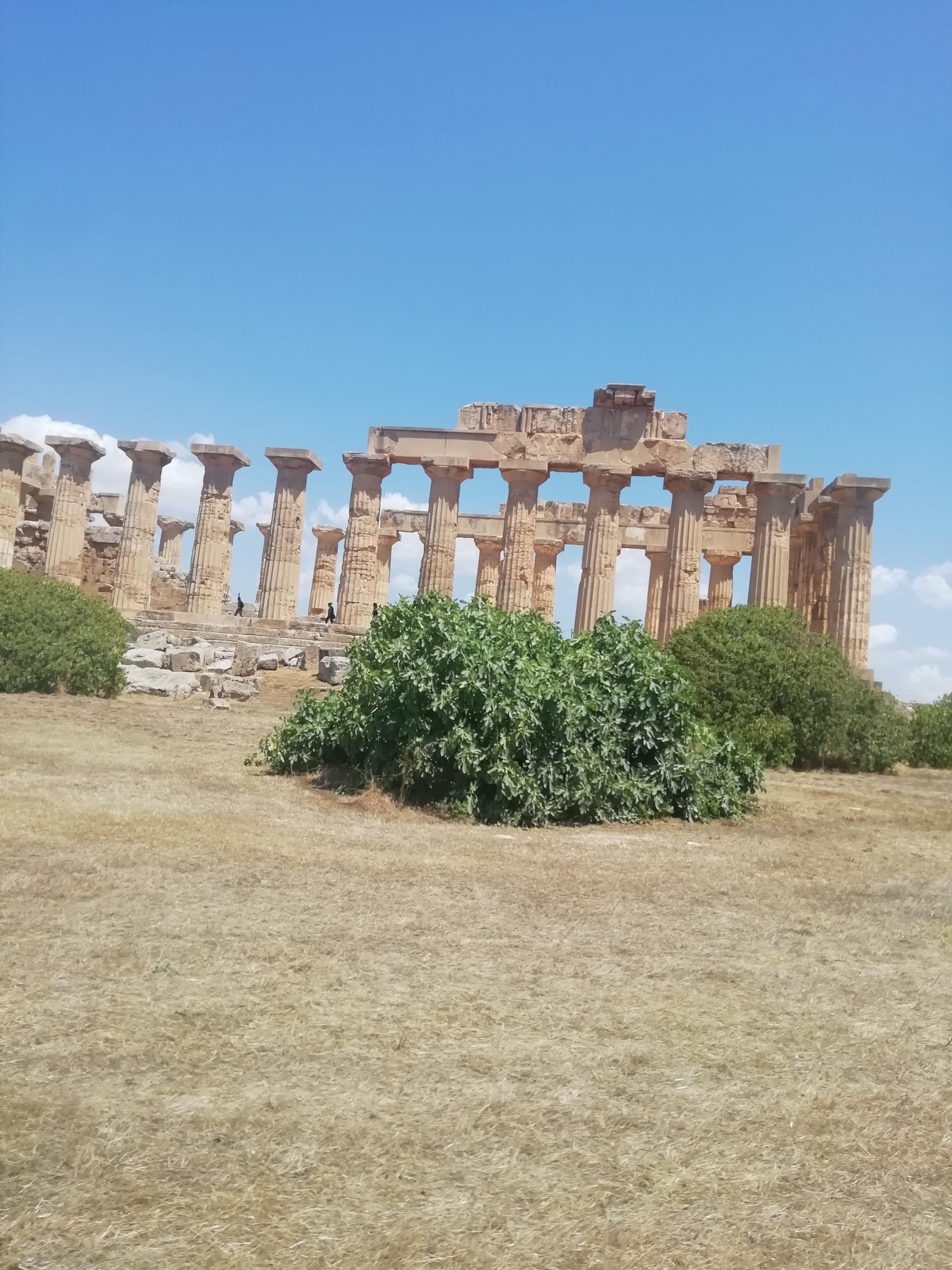 One of the temples of Selinunte, an ancient greek town in Sicily