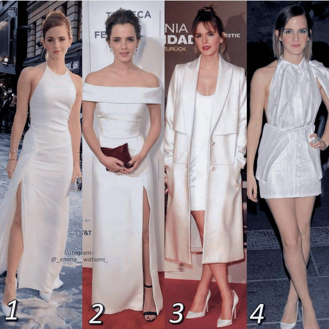 White outfits