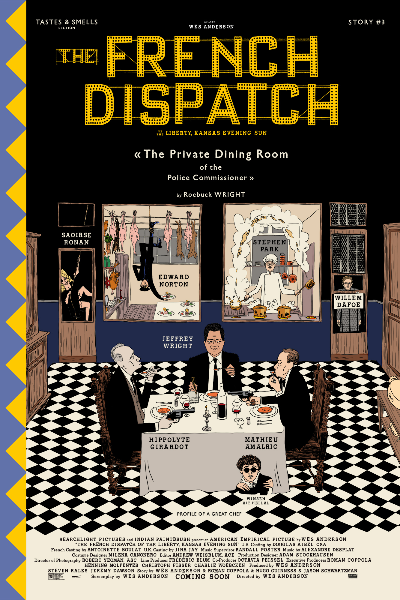 New poster for Wes Anderson's 'The French Dispatch'