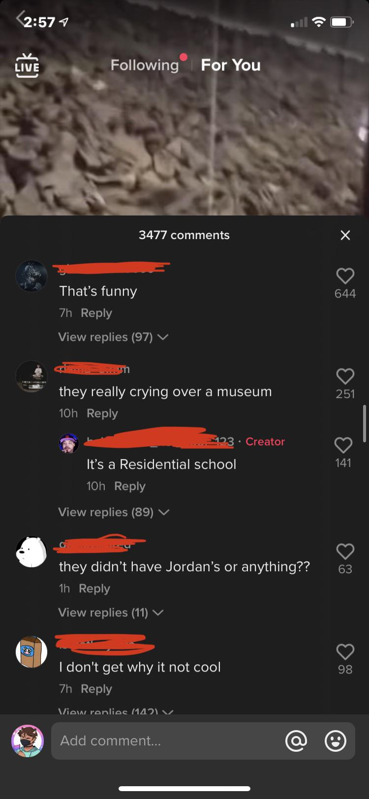 """Some fucking kids making fun of Auschwitz saying """"keep crying bozo"""" honestly what the hell is wrong with people"""