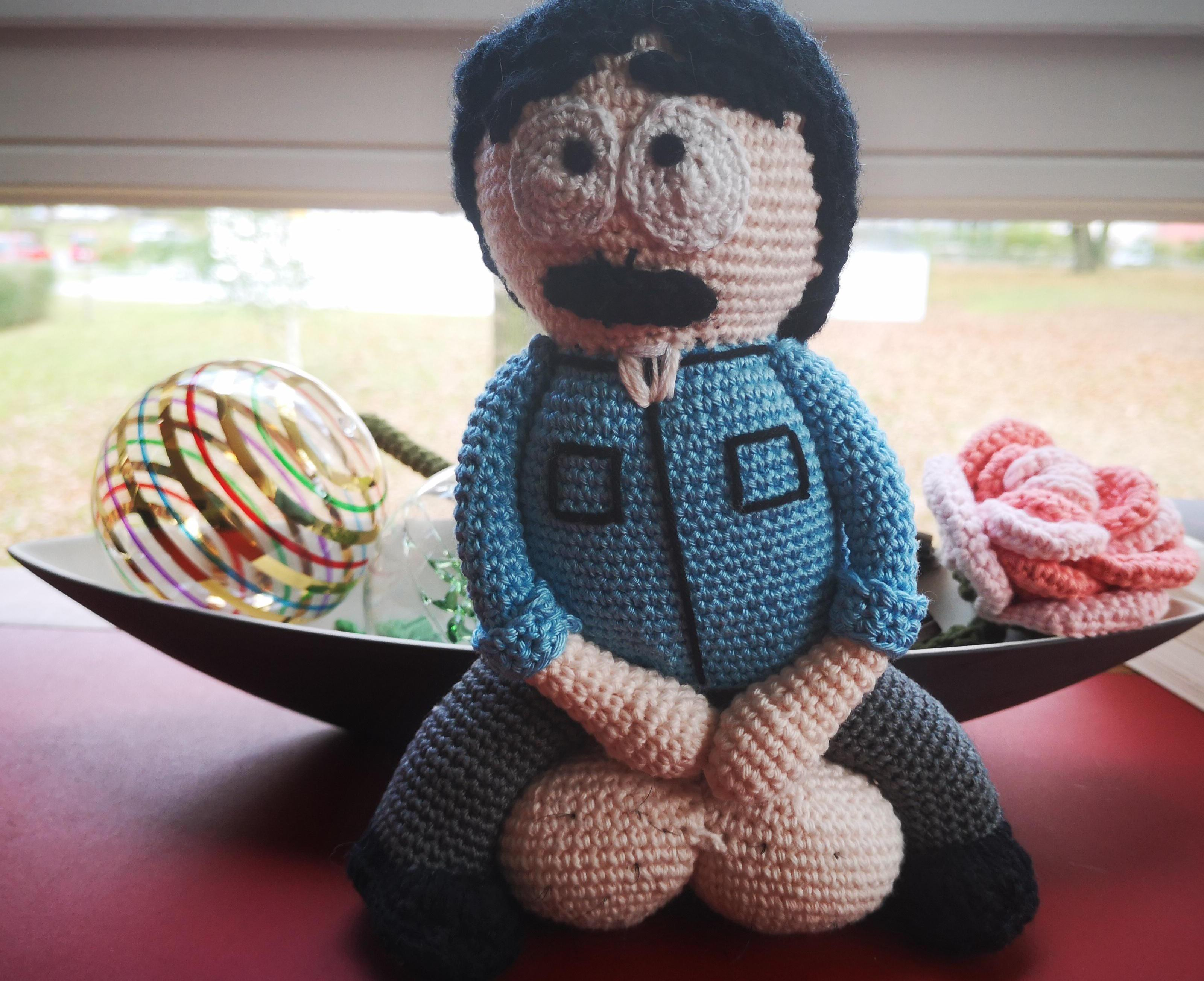 Made big balls Randy for a good friend a while ago. Was hard to let him go